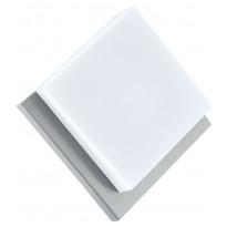 LED-katto-/seinävalaisin ulos Eglo Infesto 1, teräs, valkoinen 94877