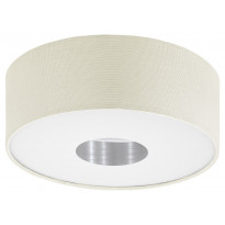 LED-plafondi Eglo Romao 1, Ø350mm, luonnollinen 95327