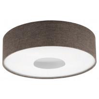 LED-plafondi Eglo Romao 2, Ø500mm, ruskea 95337