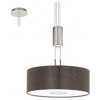 LED-riippuvalaisin Eglo Romao 2, Ø380mm, ruskea 95338