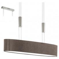 LED-riippuvalaisin Eglo Romao 2, 170x750mm, ruskea 95341, Tammiston poistotuote