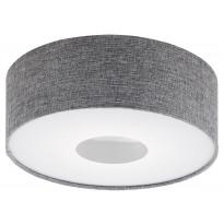 LED-plafondi Eglo Romao, Ø350mm, harmaa 95345