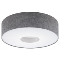 LED-plafondi Eglo Romao, Ø500mm, harmaa 95346