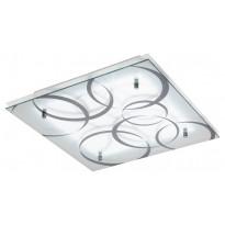 LED-plafondi Eglo Concabella, 380x380mm, kuvioitu 95529