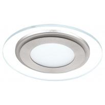 LED-alasvalo Eglo Pineda 12W, Ø145mm, valkoinen, teräs 95932