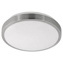 LED-plafondi Eglo Competa 1, Ø245mm, valkoinen, teräs 96032