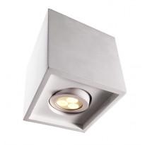 Alasvalo Deko-Light Caja I, 132x132mm, valkoinen, maalattava