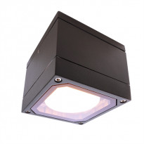 Kattovalaisin ulos Deko-Light Mob Square II, 108x100 mm, antrasiitti