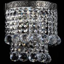 Seinävalaisin Maytoni Diamant Gala, kromi/kristalli
