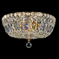 Kattovalaisin Maytoni Diamant Basfor, kulta/kristalli