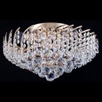 Kattovalaisin Maytoni Diamant Karolina, kulta/kristalli, 6 poltinta
