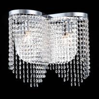 Seinävalaisin Maytoni Diamant Crystal Toils, nikkeli