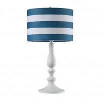 PöytävalaisinMaytoni Modern Sailor, varjostimella, valkoinen/sininen
