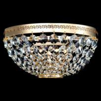 Seinävalaisin Maytoni Diamant Ottilia, kulta/kristalli, Verkkokaupan poistotuote