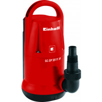 Uppopumppu Einhell Classic GC-SP 5511 IF, kirkkaalle vedelle