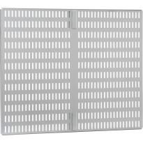 Säilytystaulu Elfa Utility Door and Wall 459x388x16mm, platina