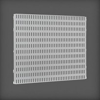 Säilytystaulu Elfa Utility Home 442x382x15mm, platina