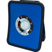 LED-työvalaisin ElectroGEAR 36W, IP54, 1xpistorasia, telineillä