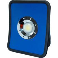 LED-työvalaisin ElectroGEAR 50W, IP54, 1xpistorasia, telineillä