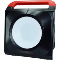 LED-työvalaisin ElectroGEAR 50W, IP54, 2xpistorasia, telineillä