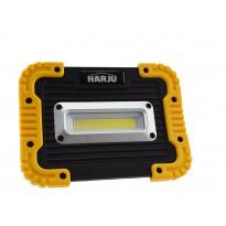 LED-valonheitin ElectroGear Niro 10W, IPX4 ladattava 4000K, musta/keltainen