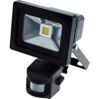 LED-valonheitin ElectroGEAR 10W, IP44, hämäräkytkimellä