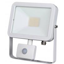 LED-valonheitin ElectroGEAR 30W, IP44, liiketunnistimella, valkoinen