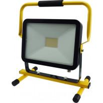 LED-valonheitin ElectroGEAR 50W, IP44, telineellä