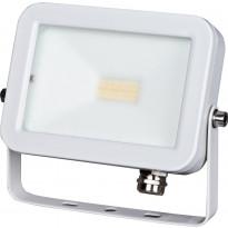LED-valonheitin ElectroGEAR 10W, IP54, valkoinen, litteä
