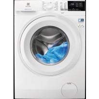 Edestä täytettävä pesukone Electrolux EW6F5247G1, 7kg, 1400 rpm, valkoinen