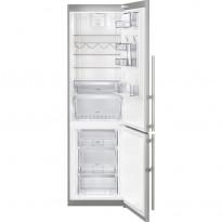 Jääkaappipakastin Electrolux EN3889MFX, 258/92l, hopea