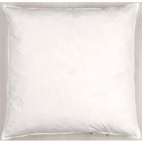 Sisätyyny Eurokangas Höyhen, 50x50cm, valkoinen