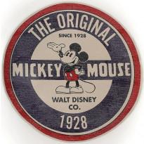 Matto Eurokangas Original Mickey, Ø90cm