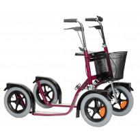 Potkupyörä Esla CityMax 3800, punainen