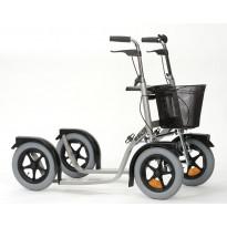 Potkupyörä Esla CityMax 3800, hopea