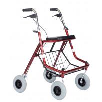 Kävelypyörä Esla 6504, punainen