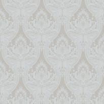 Tapetti Baroque 127608 0,53x10,05 m siniharmaa non-woven