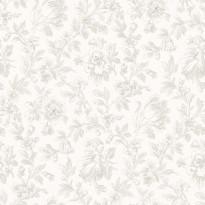 Tapetti Fine Flowers 127623 0,53x10,05 m vaaleanruskea non-woven