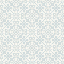Tapetti Azulejos Tiles 128047 0,53x10,05 m vaaleansininen/valkoinen non-woven