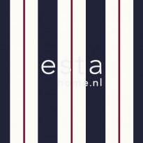 Tapetti Stripes 136415 0,53x10,05 m sininen/punainen non-woven