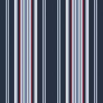 Tapetti Stripes 136419 0,53x10,05 m sininen/punainen non-woven