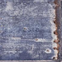 Tapetti Rusty Metal 138219, 0,53x10,05m, sininen