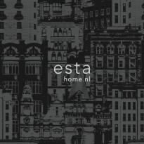 Tapetti Buildings 138227, 0,53x10,05m, musta