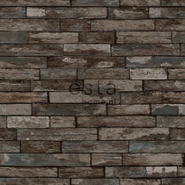 Tapetti Pieces Wood 138243, 0,53x10,05m, ruskea
