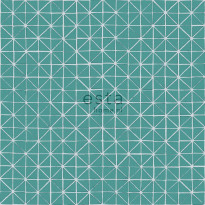 Tapetti Esta Geometric Shapes 148350, 0,53x10,05m, tumma vedenvihreä