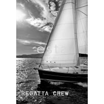 Paneelitapetti PhotoWallXL Sailing Boat 156431 1860x2700 mm