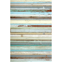 Paneelitapetti PhotoWallXL Old Wood Blue 158004 1860x2790 mm