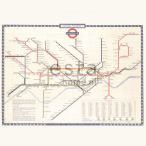 Paneelitapetti PhotowallXL London Transport 158209, 2790x2790mm