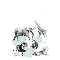 Kuvatapetti PhotowallXL Animals 158704 1860x2790 mm