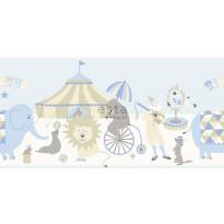 Boordi Circus 178701 5000x265 mm vaaleansininen, beige